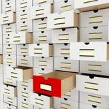Stockage de données Image libre de droits
