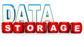 Stockage de données Images stock