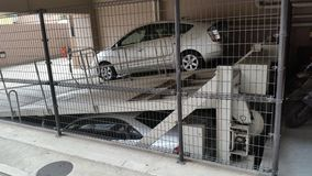 Stockage de voiture du Japon Photo libre de droits