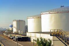 Stockage du combustible Photo libre de droits