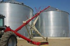 Stockage du grain image libre de droits