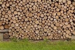 Stockage en bois extérieur Photographie stock
