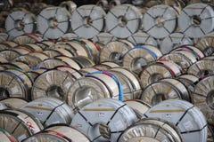Stockage industriel de bobine Image libre de droits