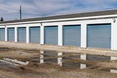Stockage numéroté d'individu et mini unités de garage de stockage VI photo libre de droits