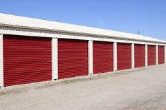Stockage numéroté d'individu et mini unités de garage de stockage XI photos stock