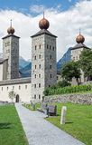 Stockalper Palace, Brig, Switzerland. The Stockalper Palace is a castle build between 1651 and 1671 in Brig-Glis, Switzerland stock photos
