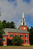 Stockbridge, μΑ: Πρώτη εκκλησιαστική εκκλησία Στοκ Φωτογραφία