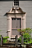 Stockbridge, MA: 1742 Mission House Doorway Royalty Free Stock Photography
