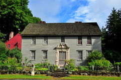 Stockbridge, MA: 1742 Mission House Royalty Free Stock Image