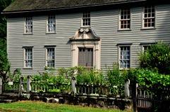 Stockbridge, MA: 1742 Mission House Stock Image