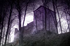 Stockenfels-castelo dos fantasmas Foto de Stock