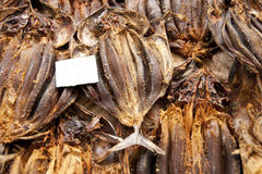Stockfish. Scene in portugal / island of madeira / funchal / mercado dos lavradores Stock Images
