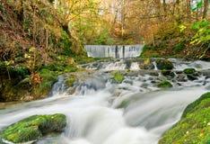 Stockghyllwatervallen Royalty-vrije Stock Afbeelding