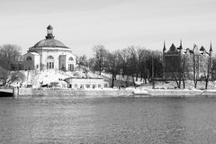 Stockholm. Views of the beautiful Protestant church in Stockholm Stock Images