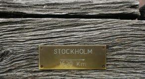 stockholm к Стоковые Фотографии RF