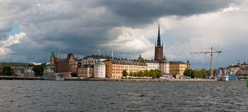 Stockholm. The Old Town in Stockholm Stock Photography