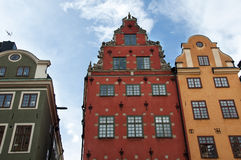 Stockholm. Stortorget place in Gamla stan, Stockholm Royalty Free Stock Image