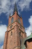 Tower of church in Stockholm Royalty Free Stock Images