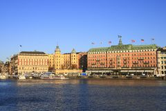 Stockholm Photo libre de droits