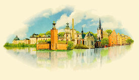Stockholm Royalty-vrije Illustratie
