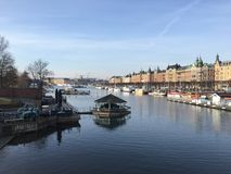 stockholm Arkivbild