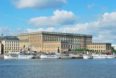 Stockholm-alte Stadt Lizenzfreies Stockbild
