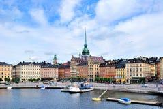 Stockholm. Alte Stadt Lizenzfreie Stockfotografie
