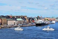 Stockholm. Alte Stadt Stockfotos