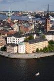 Stockholm-alte Stadt Lizenzfreie Stockfotos