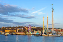 Stockholm amusement park Stock Images