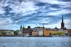 Stockholm-Ansicht lizenzfreies stockfoto
