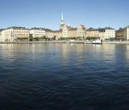 Stockholm-Ansicht Stockfoto