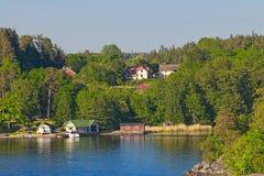 Stockholm archipelago Stock Images