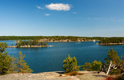 Stockholm archipelago Royalty Free Stock Photography