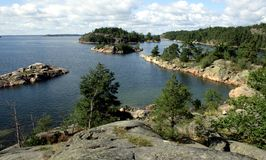 Stockholm archipelago Royalty Free Stock Photography