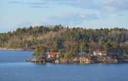 Stockholm archipelago, largest archipelago in Sweden Royalty Free Stock Photo