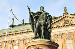 Stockholm architecture Royalty Free Stock Photo