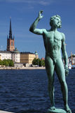 Stockholm art Stock Photography