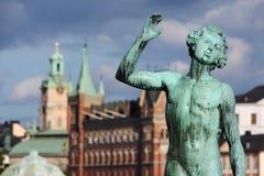 Stockholm art Stock Image