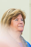 STOCKHOLM - AUG, 24: Gunilla Lindberg, chairmember of the IOK wa Royalty Free Stock Image