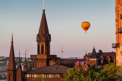 Stockholm Balloon Stock Photo