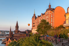 Stockholm Balloon Stock Image