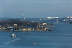 Stockholm Baltic Sea. Stockholm view towards Djurgarden Island Stock Image