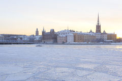 Stockholm beskådar Fotografering för Bildbyråer