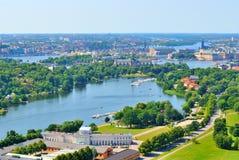 Stockholm  bird's-eye view Stock Photo