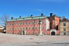 Stockholm. Birger Jarl Square Stock Image