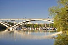 Stockholm Bridge Stock Photo