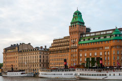 Stockholm buildings Royalty Free Stock Photos