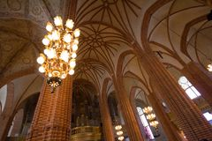 The Stockholm Cathedral Royalty Free Stock Photo