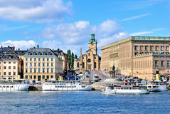 Stockholm Cathedral Stock Images